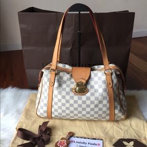 Preloved LV Stresa PM Damier Azur PM Bag